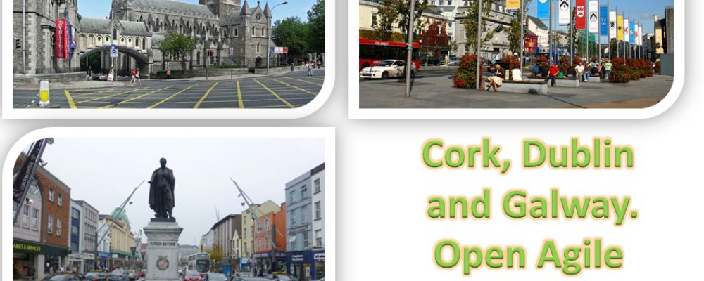 Three Irish cities join Open & Agile Smart Cities