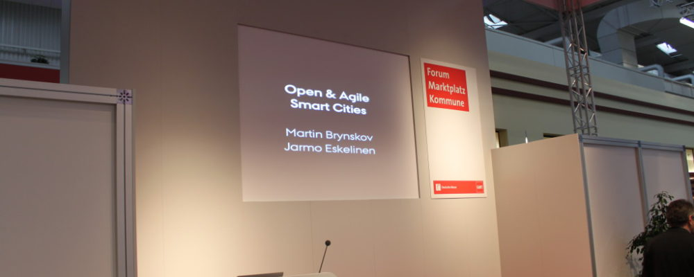 CeBIT 2015: Announcement of Open & Agile Smart Cities initiative