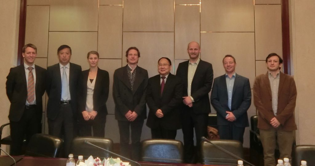 MOHURD delegation led by Mr. Ding meets OASC delegation led by Mr. Brynskov